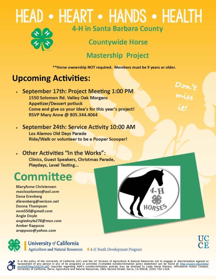 2017-2018 County Horse Mastership Flier JPEG